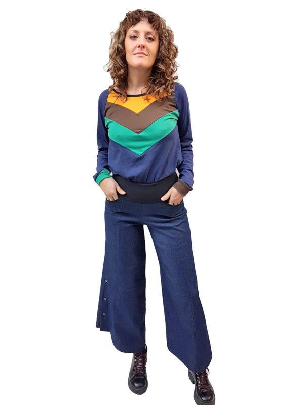 Pantalon de Jean palazzo